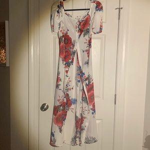 Tropic Hi Lo Summer Dress